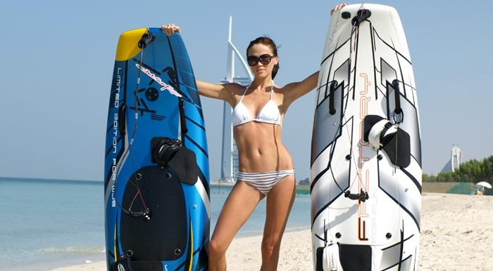 Jetsurf girl in Dubai