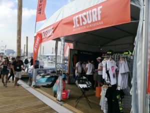 JetSurf stan na Miami International Boat Show