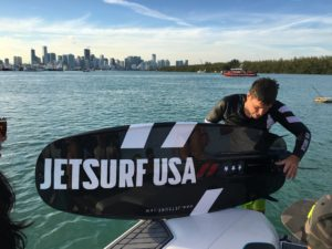 JetSurf Race Titanium model 2017