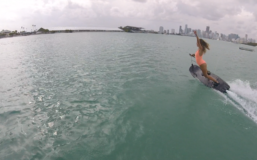 JetSurf girl in Miami