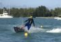 JetSurfer on homemade buoy