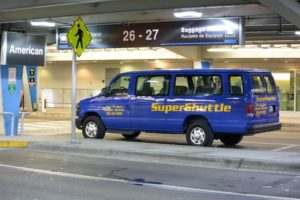 Super Shuttle at Miami International Airport